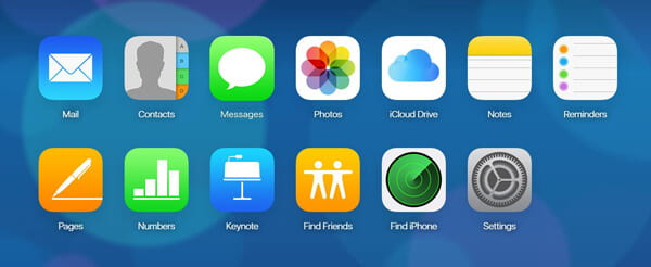Find Old iMessages on iCloud Site
