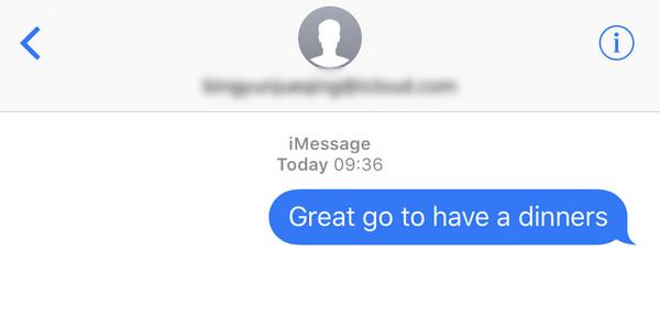 Non ricevere iMessage