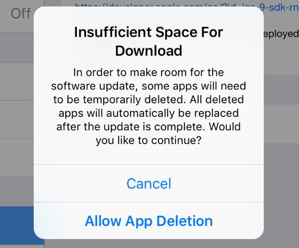 Λήψη ενημέρωσης λογισμικού iPhone