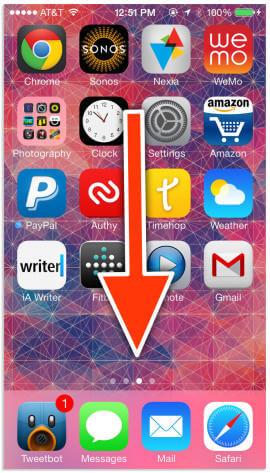 Επίκεντρο iOS7