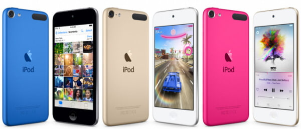 iPod Touch congelato