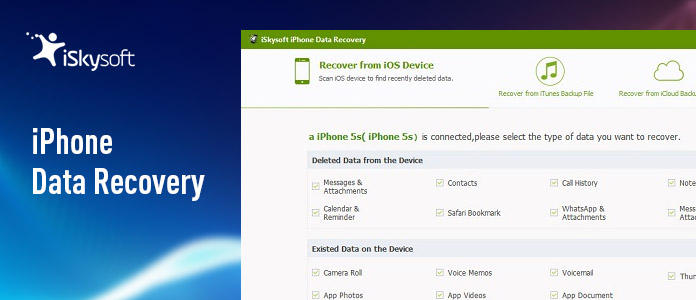 iSkysoft iPhone Data Recovery