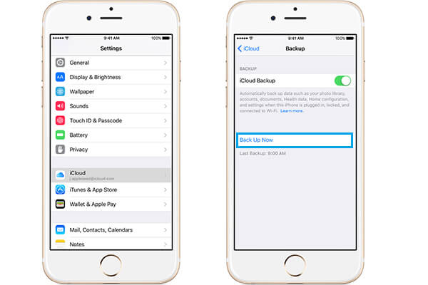 Manually Back up Photos to iCloud on iPhone