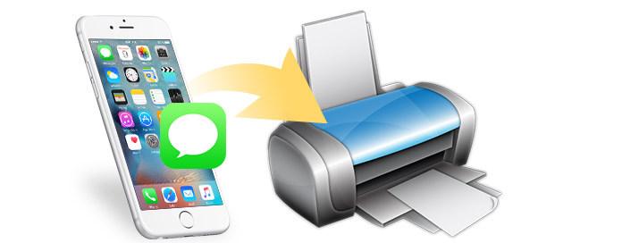 Come stampare messaggi di testo da iPhone