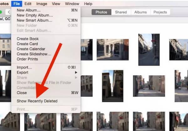 Odzyskaj zdjęcia na komputerze Mac