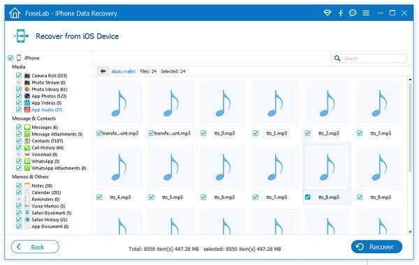 Odzyskaj usuniętą muzykę z iPhone'a bezpośrednio