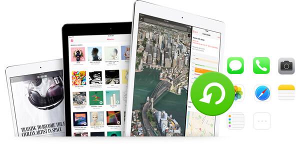Odzyskaj usunięte dane z iPada