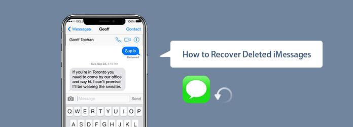 The Easiest Way to Recover Deleted iMessages from iPhone