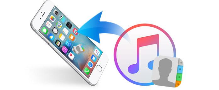 Recupera i contatti eliminati dal backup di iTunes