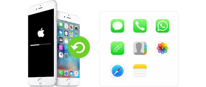 Ripristina i dati di iPhone dopo l'aggiornamento di iOS