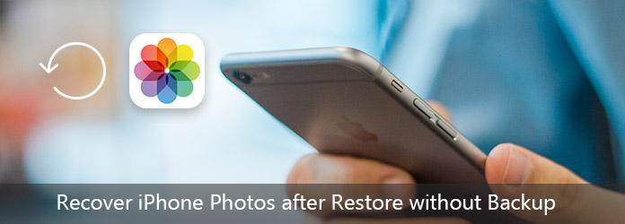Recupera le foto di iPhone dopo il ripristino senza backup