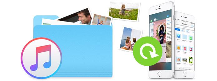 Recupera foto e immagini da iTunes Backup
