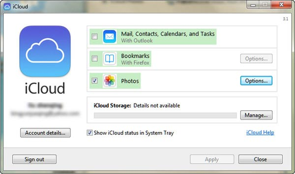 how to put pictures from icloud to iphone