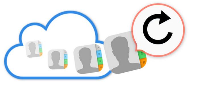 Επαναφορά επαφών από το iCloud