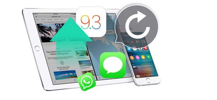Ανάκτηση μηνυμάτων iOS μετά την αναβάθμιση του iOS