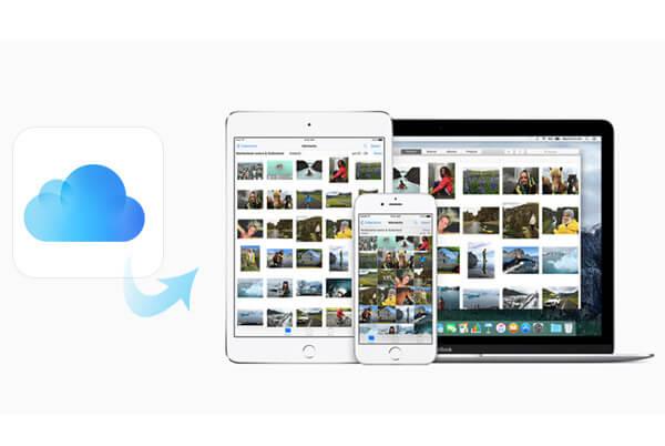 從iCloud恢復iPhone