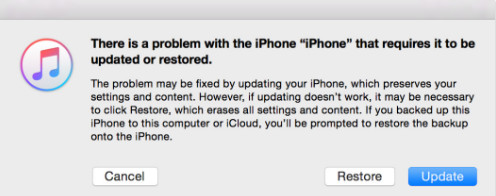 Επαναφέρετε το iPhone από τη λειτουργία ανάκτησης με το iTunes