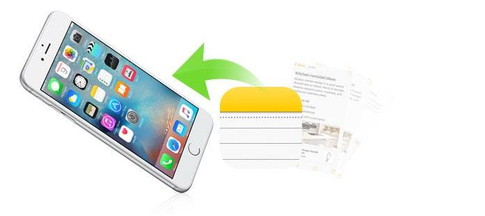Recupera nota iPhone