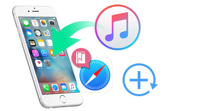 Recupera iPhone Safari Bookmark da iTunes Backup