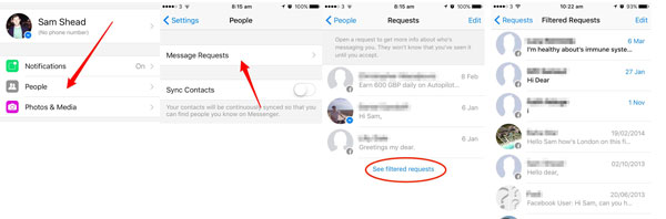 3 Ways to Recover Deleted/Hidden Facebook Messenger Messages
