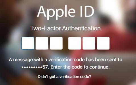 Accedi Apple ID