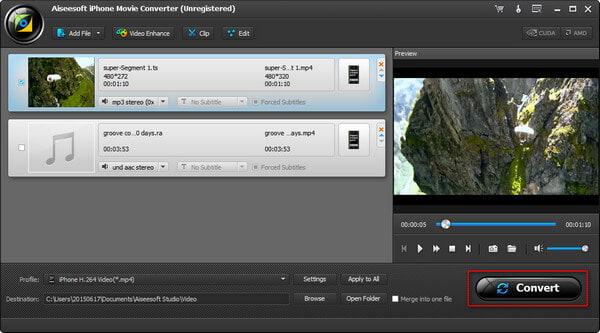 winodws 10 free convert video to to ipod