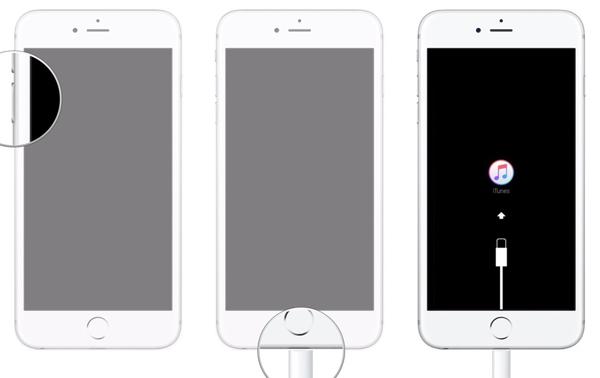 Modalità di recupero di iPhone 7/8