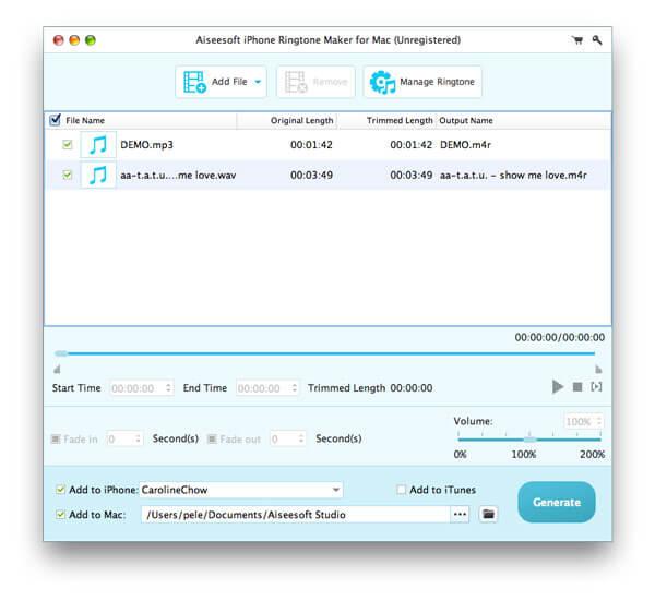 mp3 converter iphone ringtone free