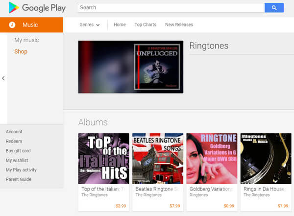 ringtone website for android