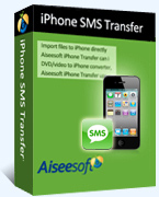 iPhone SMS Transfer box