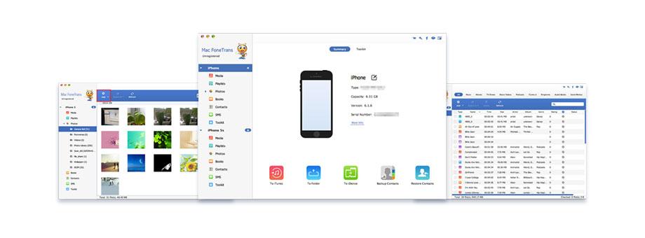 Přenos dat iOS