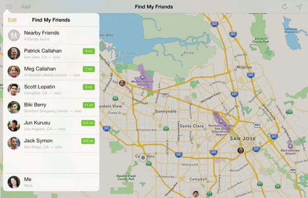 IPhone Tracking App To Track Your IOS Device - Map of iphone users in us