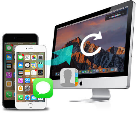 Backup iPhone SMS and contacts on Mac