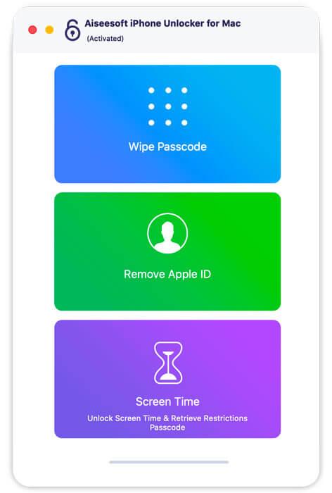 Aiseesoft iPhone Unlocker for Mac
