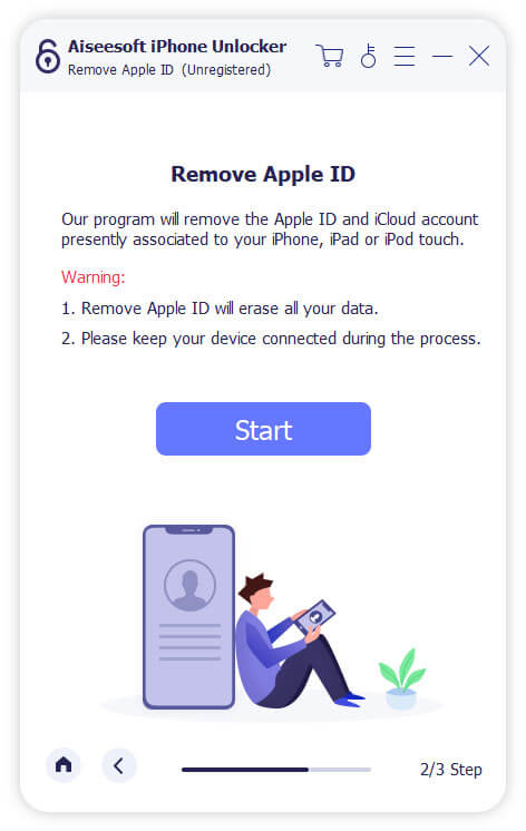 Rimuovi ID Apple