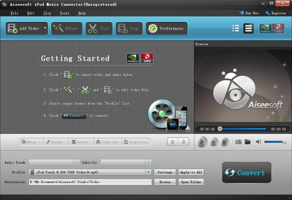 free ipod movie converter: