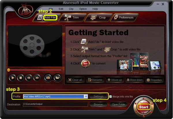 How to Put Movies on an iPod Ipod-movie-converter