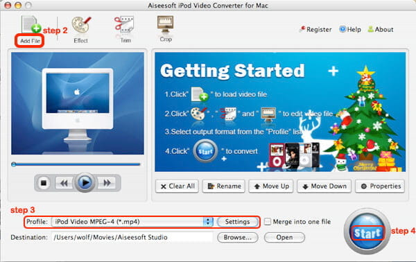 How to Put Movies on an iPod Ipod-video-converter-sc