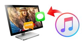 Restore MMS SMS iMessages from iTunes
