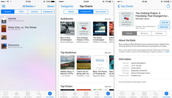 How to Download Purchased iTunes Audiobooks