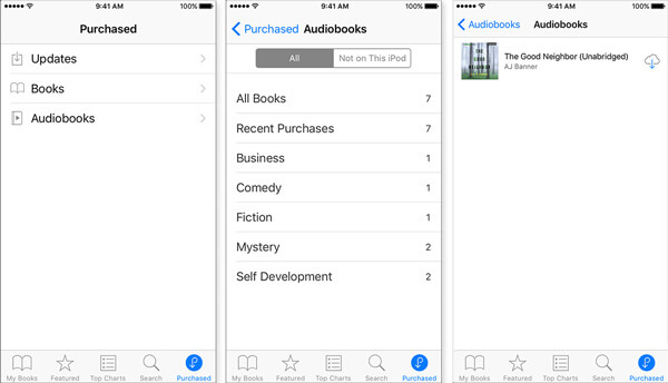 free audio books iphone how to purchased itunes audiobooks 14143