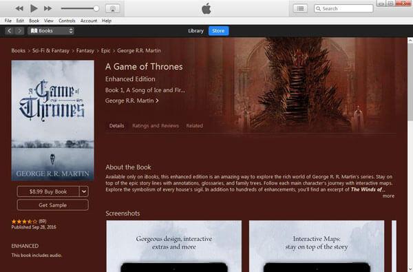 iTunes Aaudiobooks