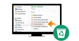 Ανακατασκευή βιβλιοθήκης του iTunes