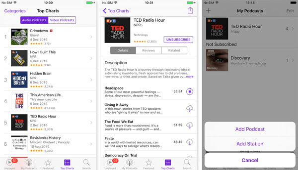 download podcast to computer
