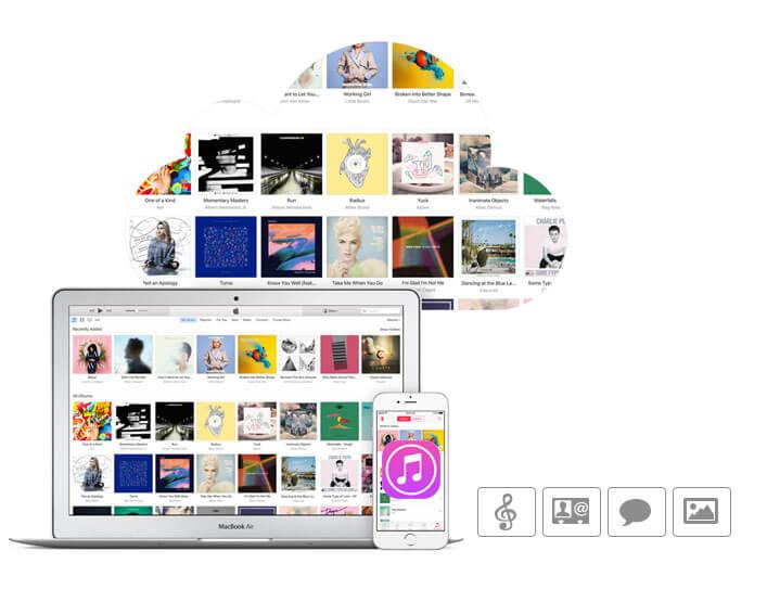 Δημιουργία αντιγράφων ασφαλείας του iTunes στον υπολογιστή iCloud