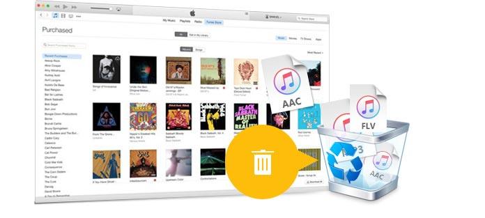 Smazat hudbu z iTunes