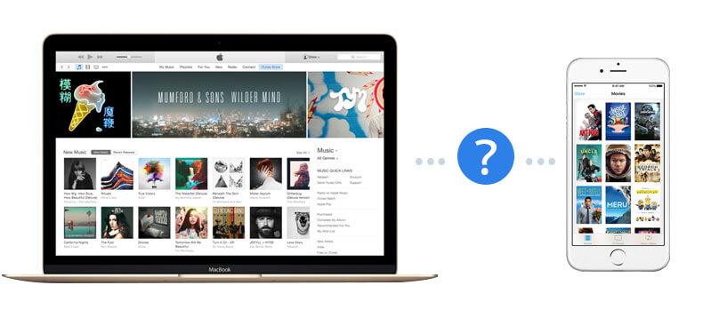 Το iTunes αναγνωρίζει το iPhone