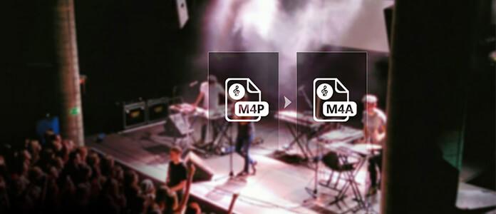 Converti M4P in M4A