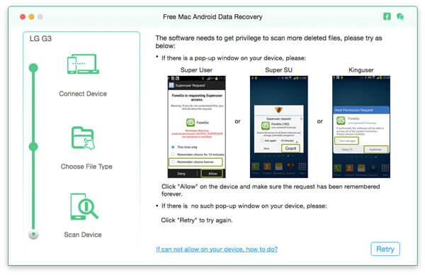 Effettua il root del tuo dispositivo Android