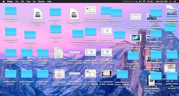 Metti in ordine il tuo desktop Mac
